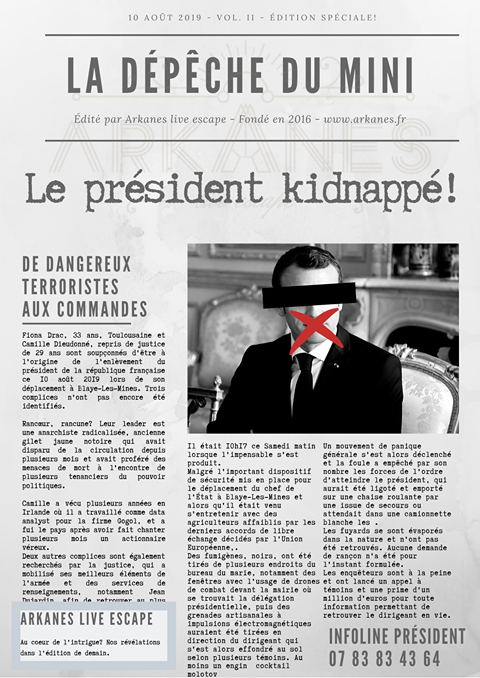 Escape-Game-Maison-Digital-Le-Squat-Kidnapping-Presidentiel-Arkanes-Maniakescape