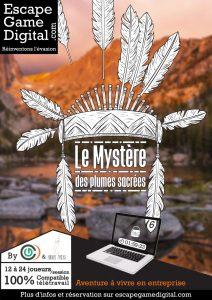 Le-Mystere-Des-Plumes-Sacrees-Escape-En-Ligne-Online-Maniakescape-Escape-Game